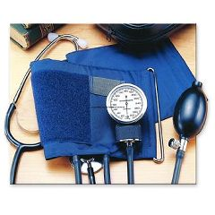 Invacare Self-Monitoring Home Blood Pressure Kits with Attached Stethoscope