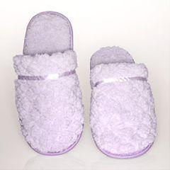 AB Marketers LLC Women's House Slippers - Gift Box - Lavender Memory Foam Slippers
