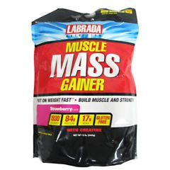 Labrada Nutrition Muscle Mass Gainer - Strawberry
