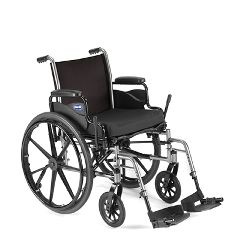 "Invacare Tracer SX5 Wheelchair Flip-Back Full-Length Arms 20""x16"""