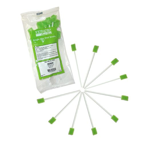 Sage Products Toothette Plus Swabs - Untreated Model 160 575065 01 Pack of 10