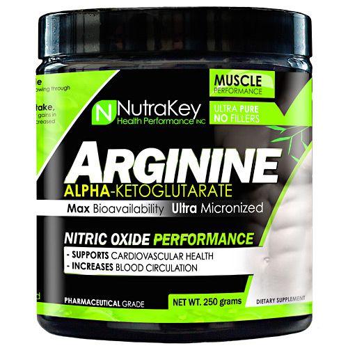 Nutrakey L-Arginine - Unflavored Model 827 583112 01