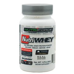 Nutriforce Sports NutriWhey - Cafe Cream