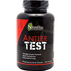 Nutrakey Antler Test Sport Performance Supplement 120 Capsules