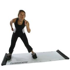 "Fitter Slide Board Lateral Exercise Trainer - 8' x 1/4"" Adjustable"