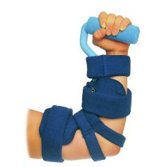 AliMed Comfy Combination Elbow-Hand Orthosis with Hand Roll