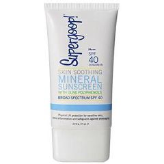 Supergoop Skin Soothing Mineral Sunscreen with Olive Polyphenols SPF 40