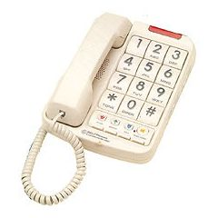 Northwestern Bell Big Button Phone w/ Braille