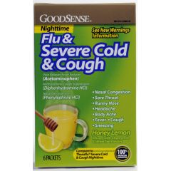 GoodSense Cold & Flu Nighttime Relief Powder