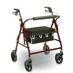 Invacare Bariatric Rollator - 400 lbs Capacity