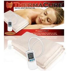 "NRG Thermacure Moist Digital Heat Pad 14""X27"""