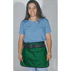 "AliMed Mini Aprons Large, 18""W x 15""L, Green"