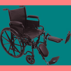 ProBasics Economy K1 Wheelchair with Elevating Legrests