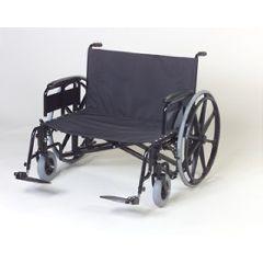 ConvaQuip Manual Bariatric Folding Wheelchair, 700 lb. Capacity