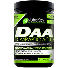 Nutrakey D-Aspartic Acid - Unflavored