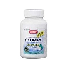 Cardinal Health Leader Simethicone Gas Relief Tablets 80 mg 100 Count