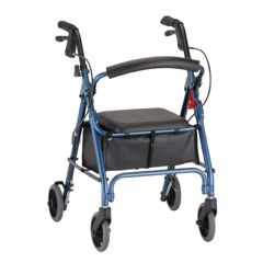 GetGo Petite Rolling Walker with Seat & Hand Brakes
