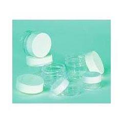 Qosmedix Medium 5 gram Jar with Thread Lid, 50 ct.