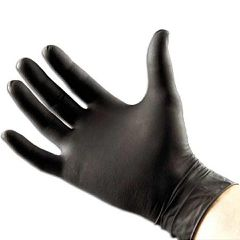 Cypress Medical Products Black Armor NonSterile PowderFree Nitrile Textured Black Latex-Free