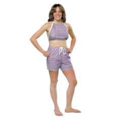 Dipsters Patient Wear, Women's Bibb-Top W/Shorts