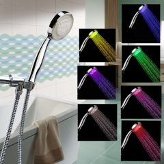 LED Handheld Showerhead With Hose