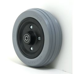 "New Solutions 6"" x 2"" Caster Wheels With Urethane Tires and B10 Bearings Pair"
