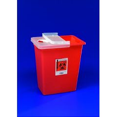 SharpSafety Sharps Container - 8 Gallon Red