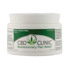 CBD Clinic™ Revolutionary Pain Relief Cream, 200g Jars