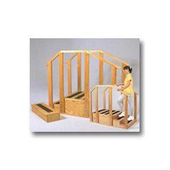 Dynatronics Standard Hardwood Training Stairs