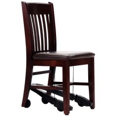 Royal Ez Mobility Assist Chair Mahogany Wood Frame Daily Living Aids