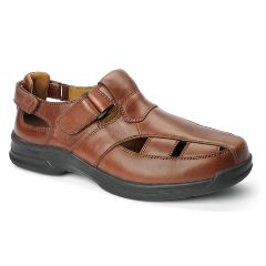 Oasis Footwear Oasis Men's  Roland Brown Diabetic Shoe