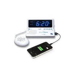 Sonic Alert Rise 'n Shine SBT625ss Dual Vibrating Alarm Clock