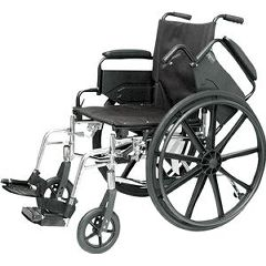 Professional Medical Imports Economy High Performance Lightweight Wheelchair