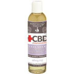 Soothing Touch CBD Clinical Cannabidiol Bath, Body & Massage Oil