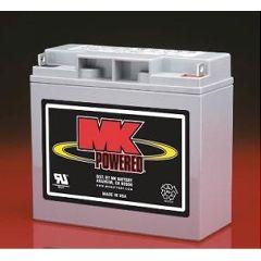 MK 12 Volt - 18 AMP Sealed Light Duty AGM Battery