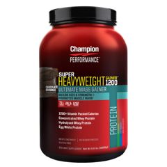Champion Nutrition Super Heavyweight Gainer 1200 - Chocolate Brownie