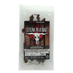 Runnin Wild Foods Steak N A Bag Thick Cut - Hickory Pepper