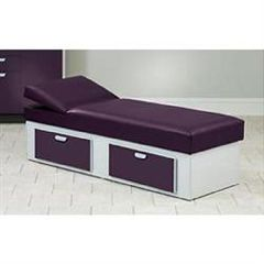 Clinton Industries Clinton Apron Couch With Double Drawers