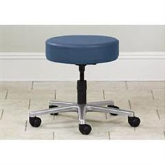 Clinton Industries Five Leg Stool With Backrest