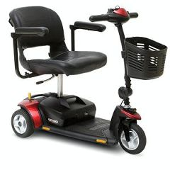 Go-Go Elite Traveller Plus 3 Wheel Mobility Scooter | FDA Class II Medical Device*