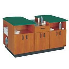 """Proteam 2 Person Taping Station 6'L X 36""""H X 42""""D"""