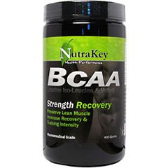 Nutrakey BCAA Muscle Growth Supplement 400g