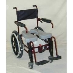 ActiveAid AdVAnced Folding Shower/Commode Chair