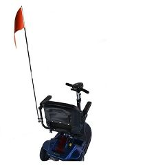 E Wheels Scooter Flag With Mounting Hardware