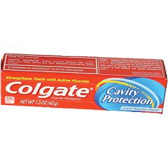Colgate Toothpaste, Cavity Protection - Regular Flavor