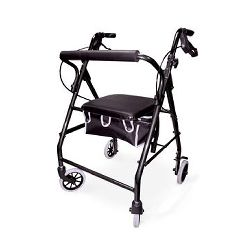 Invacare Supply Group Aluminum Rollator with Loop Brakes