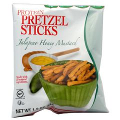 Kay's Naturals Protein Pretzel Sticks - Jalapeno Honey Mustard