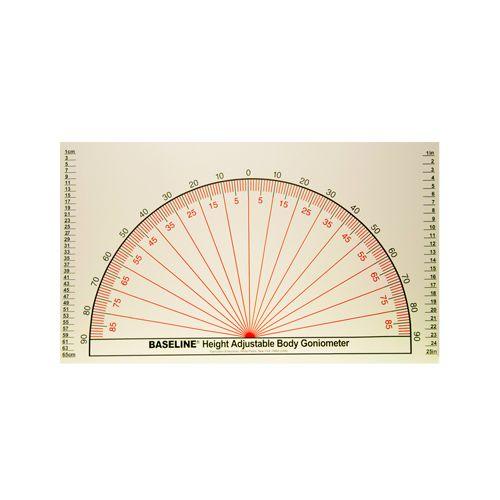 Baseline Adjustable Wall Goniometer Model 749 0011