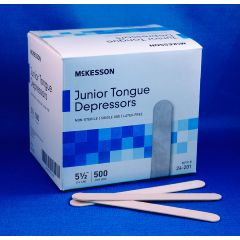 McKesson Junior Tongue Depressors