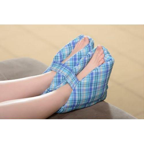 CareActive Foot Pillows/Heel Protectors - Plaid Model 727 0081